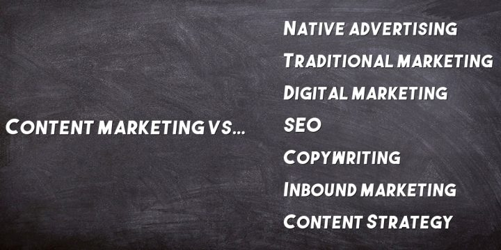 Content Marketing vs Inbound Marketing (+6 Other Marketing Types)