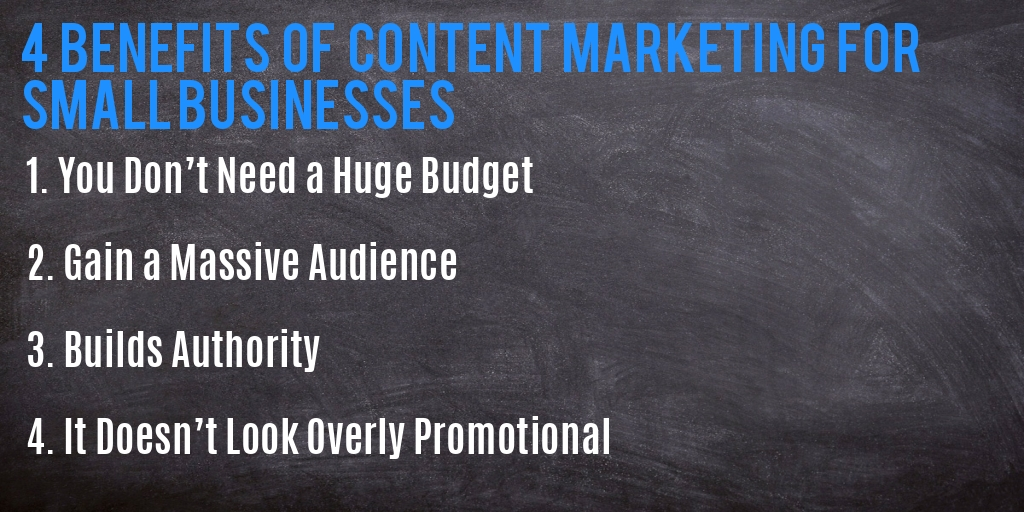 content marketing for small businesses