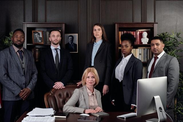 legal content marketing team
