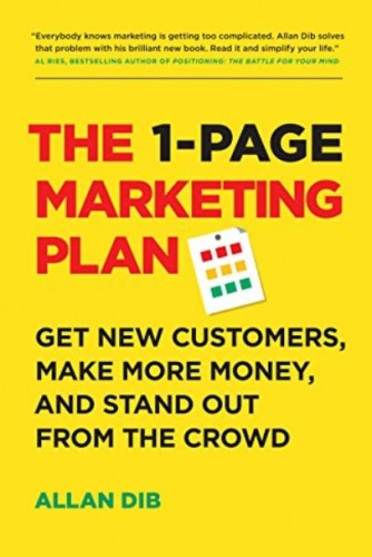 1 page marketing book